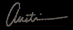 Austin Rhoads signature