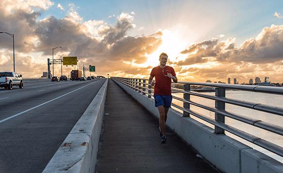 MacArthur Causeway Miami Sunrise