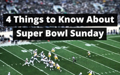 4 Things to Know for Super Bowl Sunday